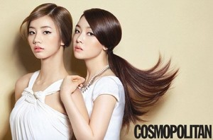 Girl's hari 'Cosmopolitan'