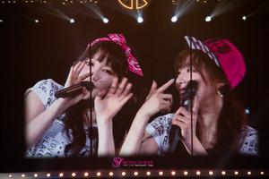 Girls' Generation 3rd japón Tour - Taeyeon and Tiffany