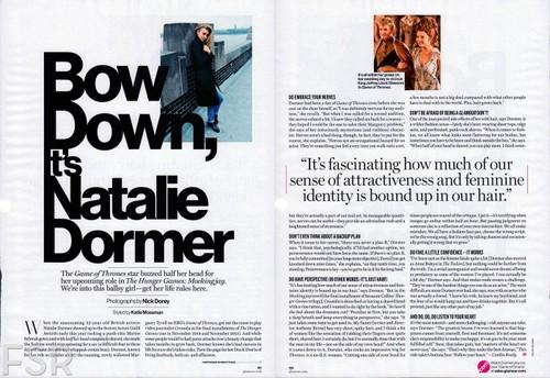 Натали Дормер Обои entitled Glamour USA (June, 2014)
