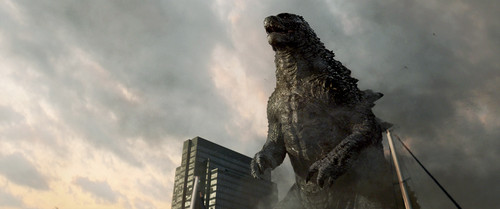 Godzilla 壁纸 probably containing a wind turbine, a nuclear reactor, and a 交叉, 十字架 entitled Godzilla (2014) - HD 照片