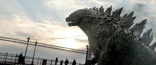Godzilla achtergrond called Godzilla (2014) - HD foto's