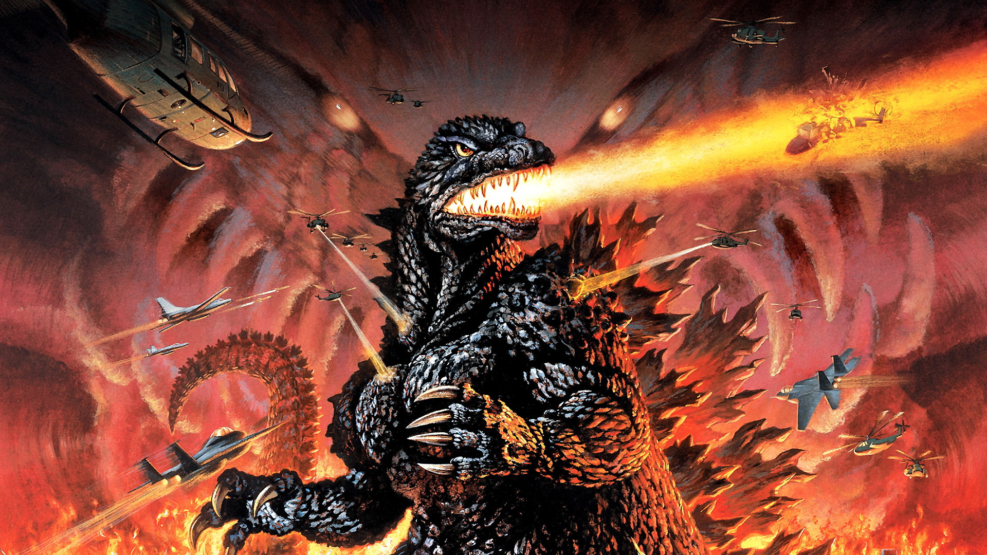 Godzilla Bilder Godzilla Destruction Hintergrund Hd Hintergrund And
