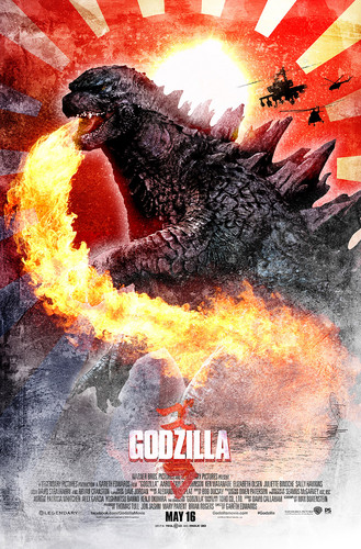 Godzilla wallpaper possibly containing Anime called Godzilla Poster