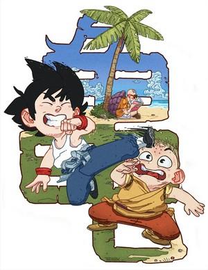 Goku vs Krillin