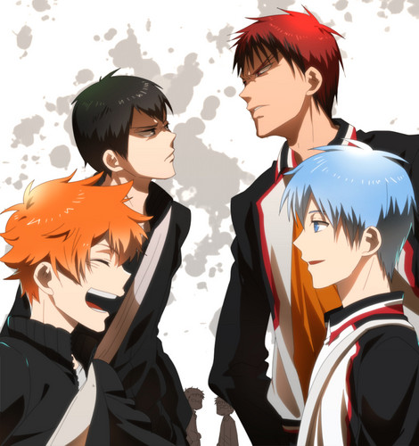 Haikyuu!!(High Kyuu!!) wallpaper entitled Haikyuu!! crossover