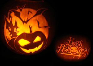 Halloween labu