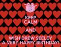 Happy Birthday, Drew Seeley!❤