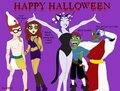 Happy Хэллоуин from Teen Titans