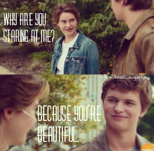 Hazel and Augustus - The Fault in Our Stars Photo (37044429) - Fanpop