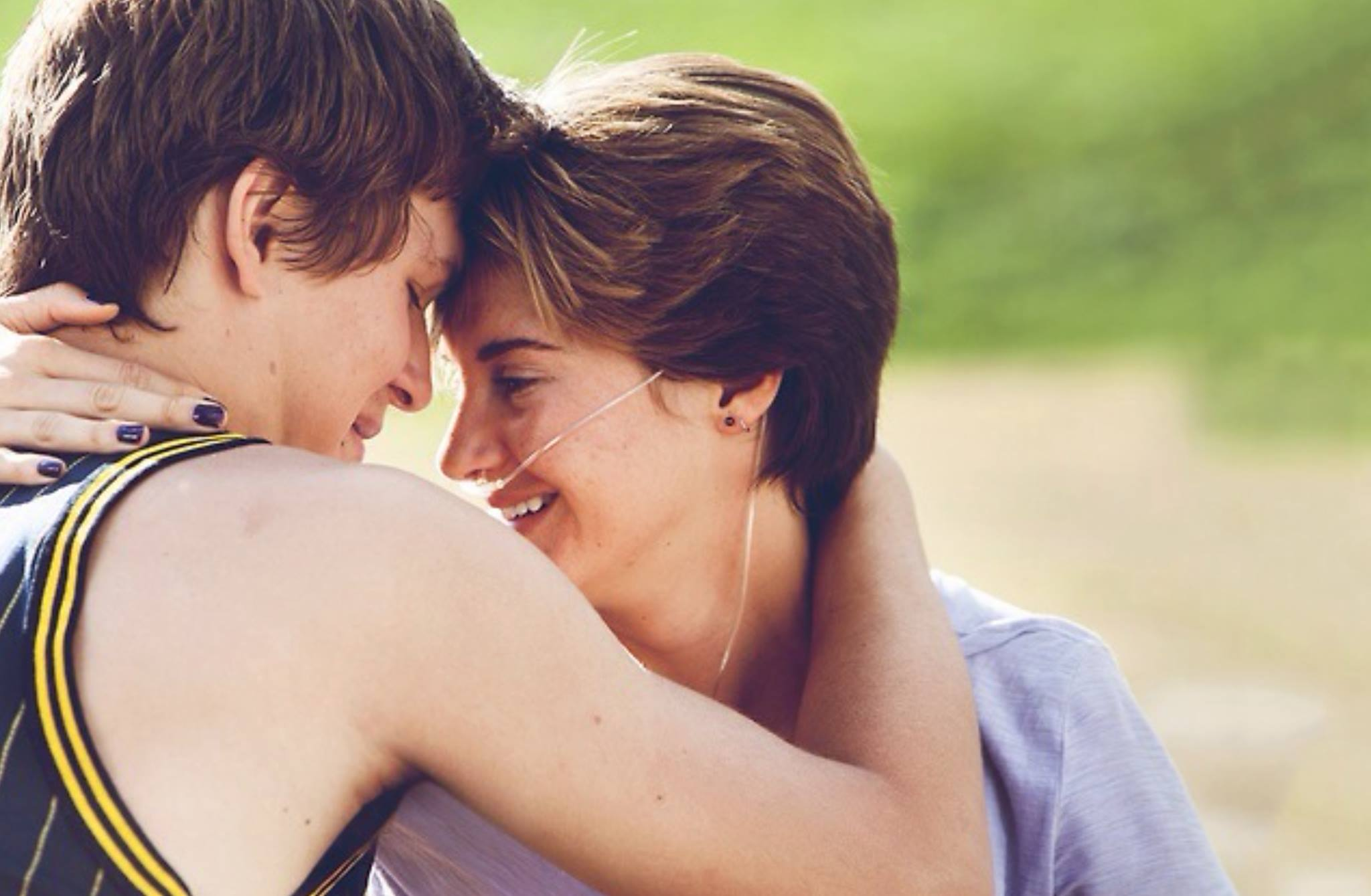 Hazel and Augustus - The Fault in Our Stars Photo ...