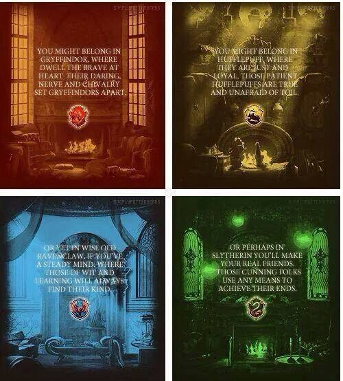 Hogwarts houses harry potter photo 37015218 fanpop for House music meaning