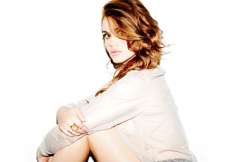 Holland Roden wallpaper probably containing a portrait entitled Holland for New York Moves Magazine
