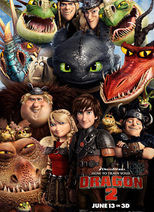 How To Train Your Dragon 2 Final Poster