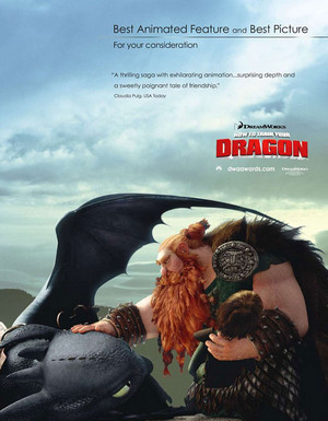 How To Train Your Dragon For Your Consideration Ads
