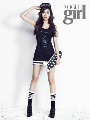 HyunA 'Vogue Girl' May Issue