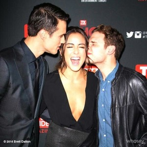 Iain, Chloe and Brett