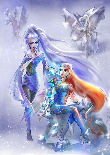 El Club Winx fondo de pantalla probably with anime titled Ice Sculptor
