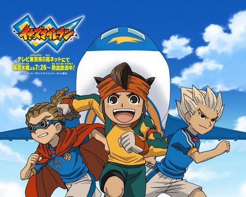animé fond d'écran containing animé entitled Inazuma Eleven
