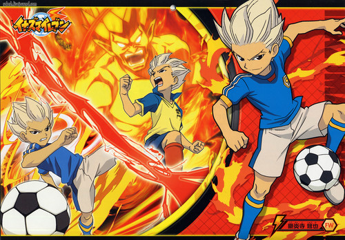 animé fond d'écran containing animé entitled Inazuma Eleven