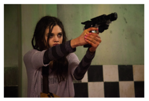 India Eisley in cerf-volant