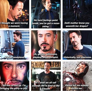 Iron Man- The Avengers frases