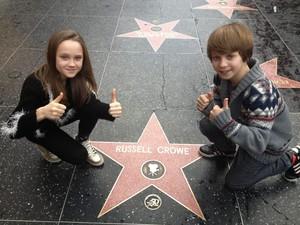 Isabelle Allen and Daniel Huttlestone