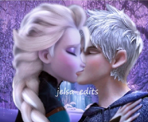 Jack and Elsa- The Kiss