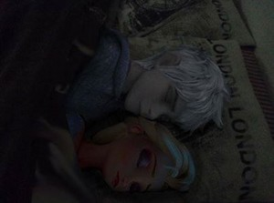 Jack and Elsa sleeping