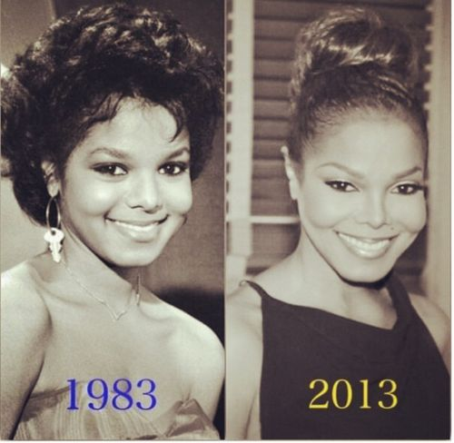Janet Then And Now