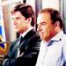 Jason Gideon and Hotch