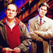 Jason Gideon and Hotch