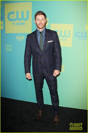 Jensen Ackles at the CW Network's 2014 Upfront Presentation