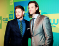 Jensen and Jared at the CW Network's 2014 Upfront Presentation - jensen-ackles photo