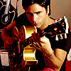 John Stamos photo probably with a guitarist titled John Stamos