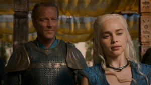 Jorah and Daenerys