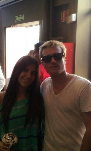 Josh Hutcherson in Madrid