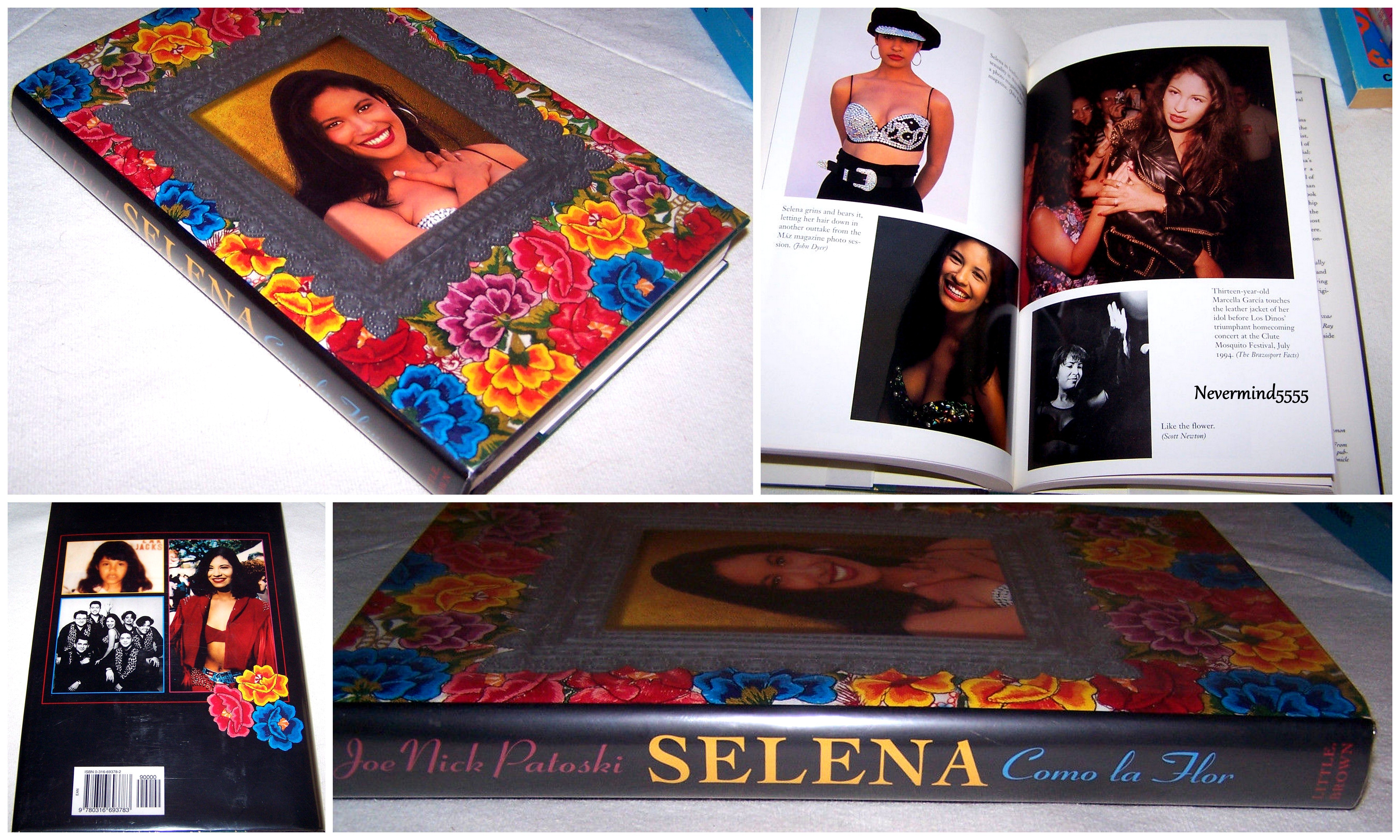 """Just purchased this amazing and hard to find Selena biography entitled """"Como La Flor"""" !!♥"""