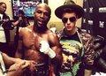 Justin Bieber & Floyd Mayweather Las Vegas - justin-bieber photo