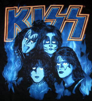Kiss ~Paul, Gene, Tommy and Eric