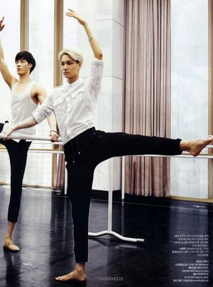 Kai ~ The Celebrity Magazine