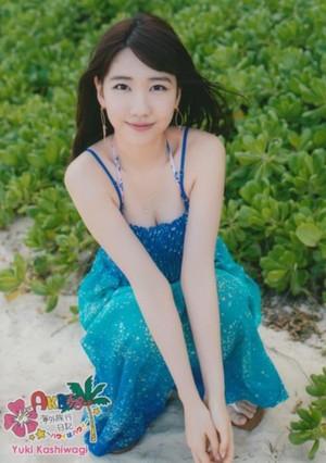 Kashiwagi Yuki ~Hawaii wa Hawaii~