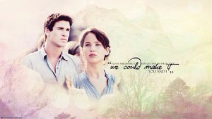 Katniss and Gale ✓