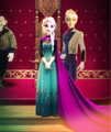 King Jack and Queen Elsa