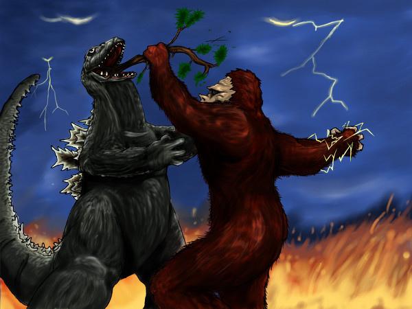 Japanese Monster Movies Images King Kong Vs Godzilla