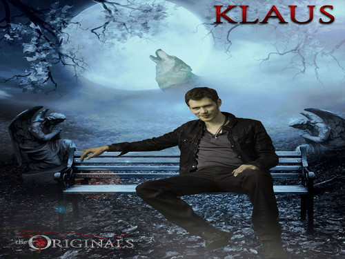 The Originals پیپر وال containing a sign entitled Klaus
