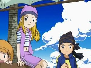 Kozumi and tommy on a ship