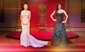 Kristen and Idina