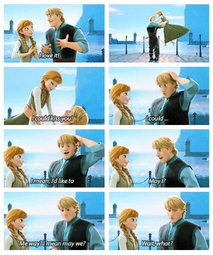 Kristoff Is the Shy Type