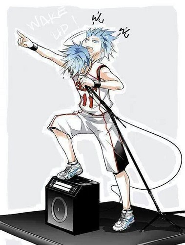 Kuroko Tetsuya वॉलपेपर entitled Kuroko गाना Fantastic Tune xD