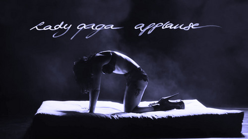 Lady Gaga wallpaper containing a sign titled Lady GaGa Applause ARTPOP